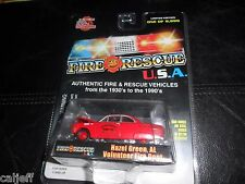 Racing Champions Fire Rescue Hazel Green Alabama 1950 Ford Coupe Issue #23 9,999