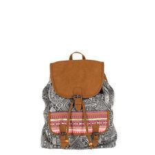 Animal Women's Hideout 12Ltr Canvas Backpack Bag - SS16: Asphalt Grey