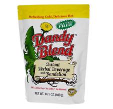 DANDY BLEND INSTANT HERBAL BEVERAGE WITH DANDELION CAFFEINEE GLUTEN FREE 400 GMS