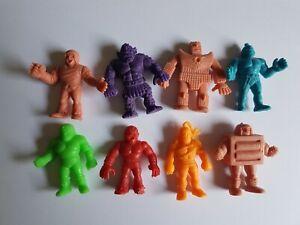 M.U.S.C.L.E. Men Figures Lot  Mattel MUSCLE Wrestlers Vintage #1