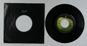 The Beatles Let It Be Ger 7in Single 1970 Apple Cover