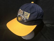 Vintage Georgia Tech Yellow Jackets The Game Hat Cap NCAA Blue Yellow