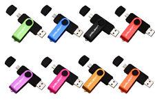 CHIAVETTA USB 2.0 - PENDRIVE - DOPPIO CONNETTORE OTG 32 GB E 64 GB -IDEA REGALO