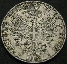 ITALY 25 Centesimi 1902R - Nickel - Emanuele III - VF/XF - 3516 ¤
