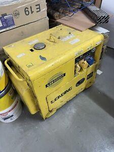 6.5kva Silent Generator Long Run 110v / 240v