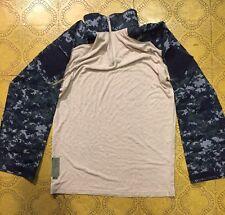 Crye Precision Drifire Navy Digital Combat Shirt - Medium Brand New