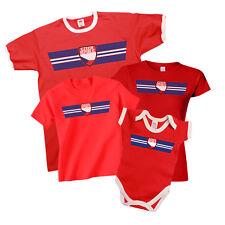 CZECH REPUBLIC Patriotic Fan Kit T-Shirt *Choice Of MENS LADIES KIDS BABY GROW*