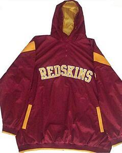 Washington Redskins NFL Apparel1/4 Zip Windbreaker Jacket Big & Tall Sizes