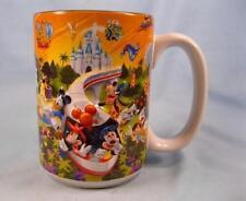 Walt Disney World Dad Coffee Mug Mickey Minnie Mouse Donal Goofy Colorful (O)