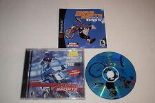 Dave Mirra Freestyle BMX Sega Dreamcast Video Game Complete