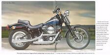 1995 Harley Davidson all models 883cc, 1200cc, 1340cc, original 24-page brochure