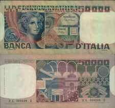 50.000 lire 11/04/1970 Volto di Donna..