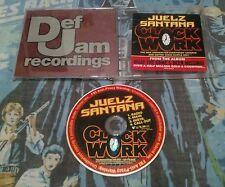 JUELZ SANTANA Clockwork w/ RADIO TRK & INSTRUMENTAL PROMO DJ CD single 2006 USA
