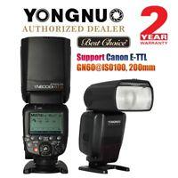Yongnuo YN600EX-RT II TTL HSS Wireless Master Flash Speedlite Canon DSLR US