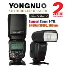Yongnuo YN600EX-RT II TTL HSS Wireless Master Flash Speedlite Canon DSLR US