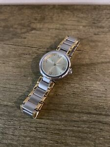 "Silpada Gold Stainless Steel ""Time to Celebrate"" Watch T3202"