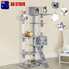 176cm Cat Tree Scratching Pad and Perch Kitten Scratch Tower Post Furniture oq