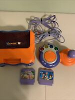 VTech V.Smile TV Learning System With Controller + 2 Games( Not Tested)