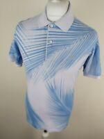 Mens Lacoste Polo Shirt Blue 4 Medium Slim 38 Ton40 Chest