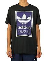 Adidas Mens Shirt Black Size Medium M Graphic Tee Pantone Trefoil $28 #135
