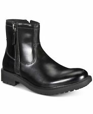 Unlisted by Kenneth Cole Men C-Roam Zip-Up Black Boot Size US 11 M/ EUR 44.5 New