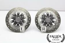 08 Harley Street Glide FLHX Front Brake Disc Rotor Set CHROME FLOATING