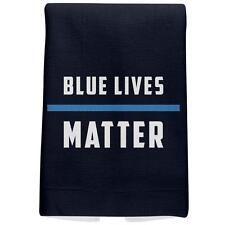 4th of July Police Blue Lives Matter Thin Blue Line Navy Sport Towel