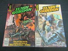 Flash Gordon #20 & 22 Bronze Age Gold Key Fine+ 6.5-7.0 K707