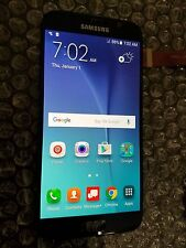 New Black Samsung Galaxy S6 G920A G920V LCD Touch Screen Digitizer Light SBI