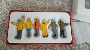 1/50 Scale Construction Worker Figures X6 Boxed New