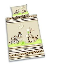 Herding draps de lit pour bébé Jana zèbre 100 x 135 cm