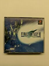 Final Fantasy 7 International game Playstation JAPAN EDITION PS1 FF VII complete