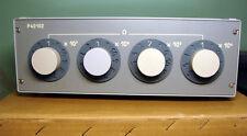 Decade resistance Box resistor 10 KOhm - 10 MOhm 0.02% P40102 R40102 NOS