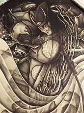 RARE Horiyoshi III '07 Samurai Poster - Japanese Tattoo Irezumi Tebori Heikigama
