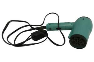 Conair Ion Shine 1875 Blow Dryer Folding Handle Mint Green Tested Model 149