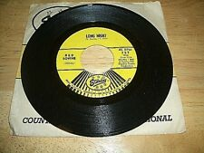 "RED SOVINE-""LONG NIGHT/TOO MUCH""  45rpm-FIRST PRESS-1966-STARDAY #757-USED"