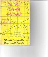 More Than Human - Theodore Sturgeon - First British edition - 1954 - SF