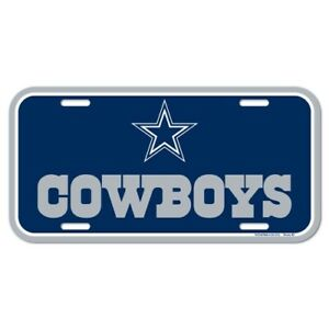Dallas Cowboys License Plate Logo