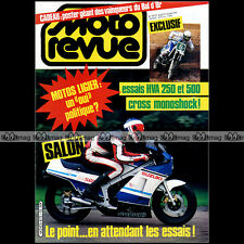 MOTO REVUE N°2672-b KIT RAYER YAMAHA XT 500 SUZUKI RG LIGIER HUSQVARNA CR 250