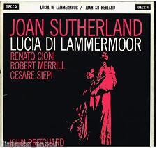 Donizetti: Lucia Di Lammermoor / Pritchard, Sutherland, Setos - LP Decca SET 212