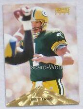 Brett Favre-PINNACLE 1996 #40 playercard (Green Bay Packers)