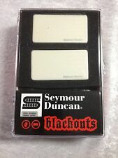 Seymour Duncan Blackouts White Active Set AHB-1s ( FREE WORLDWIDE SHIPPING )