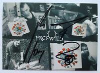 ⭐⭐⭐⭐ Freiwild Frei.Wild ⭐⭐⭐⭐ 2020 ⭐⭐⭐⭐ Autogramm ⭐⭐⭐⭐Autogrammkarte ⭐⭐⭐⭐