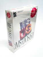 "SEALED, BOX DAMAGED - Operating System Microsoft MS-DOS 6 Upgrade on 5.25"" Disks"