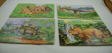 Melissa & Doug Jigsaws In A Box 4 Wooden Puzzles In Storage Box Dinosaurs #24