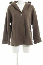 OSKA Wollmantel braun Casual-Look Damen Gr. DE 42 Mantel Coat Wool Coat