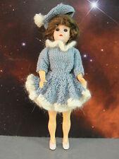 """Blinking Winking Eye 8"""" Doll Socket Bobble Head Moveable Arms Frozen Legs Lot 6"""