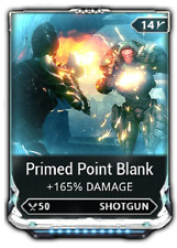 Warframe Maxed Primed Point Blank Mod ( PS4 )