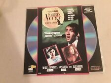 Vampire's Kiss Laserdisc 1988 Horror Comedy With Nicolas Cage