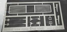 Fujimi 1:24 Ford GT40 (MKII) PhotoEtched Metal Parts